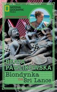 okładka książki Beaty Pawlikowskiej Blondynka na Sri Lance