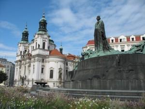 Rynek staromiejski w Pradze
