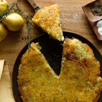 Kartoflak, czyli śląska baba ziemniaczana (źródło: pinterest.com)