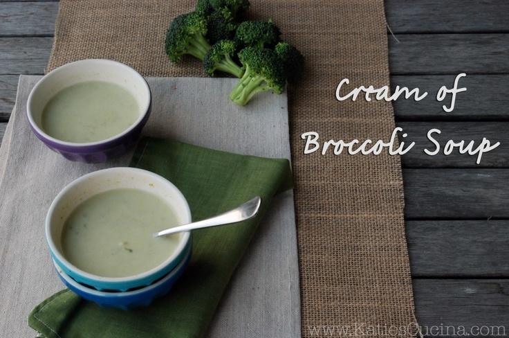 Krem z brokułów (źródło: pinterest)