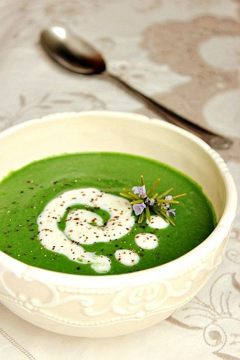 Zupa krem ze szpinaku (źródło: pinterest)