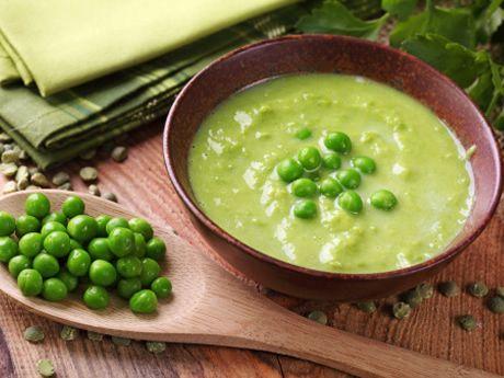 Zupa krem z zielonego groszku (źródło: pinterest)