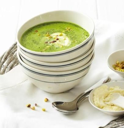 Zupa krem z bobu ze szpinakiem (źródło: pinterest)