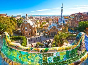 Barcelona, Park Gűell fot: Shutterstock