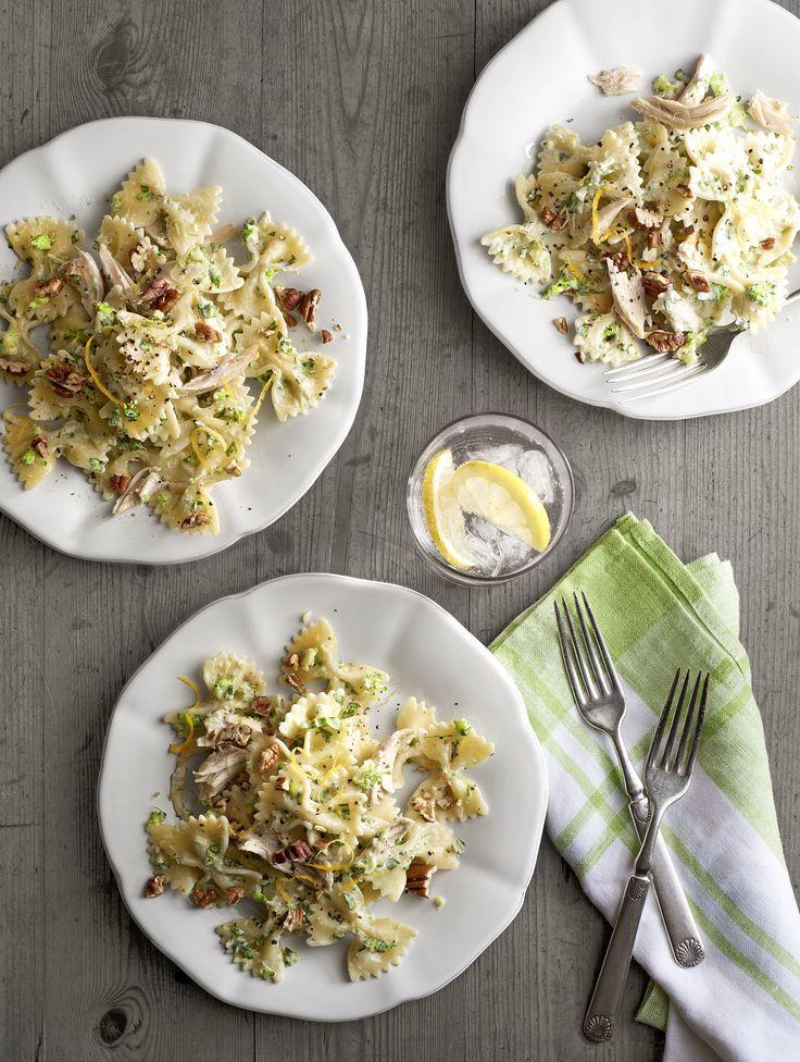 makaron z mascarpone i brokułami (źródło: pinterest)