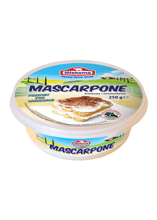ser mascarpone Mlekoma