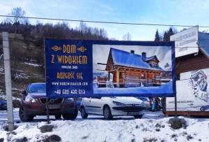 reklama dom z widokiem