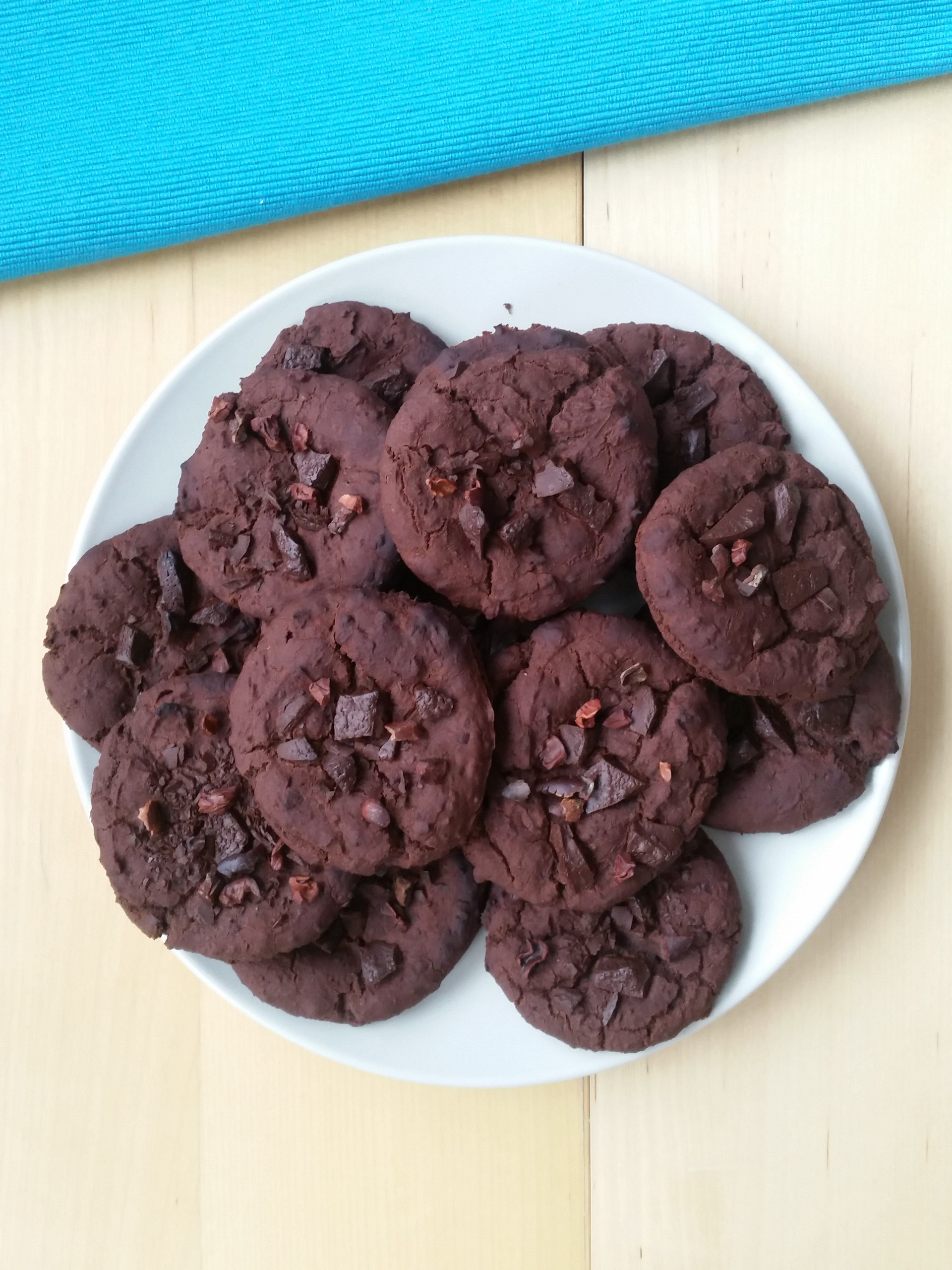 czekoladowe ciastka