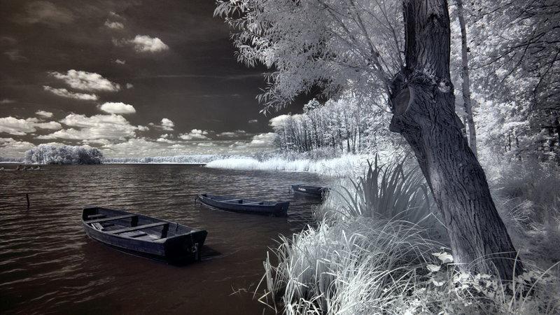 zima na jeziorach