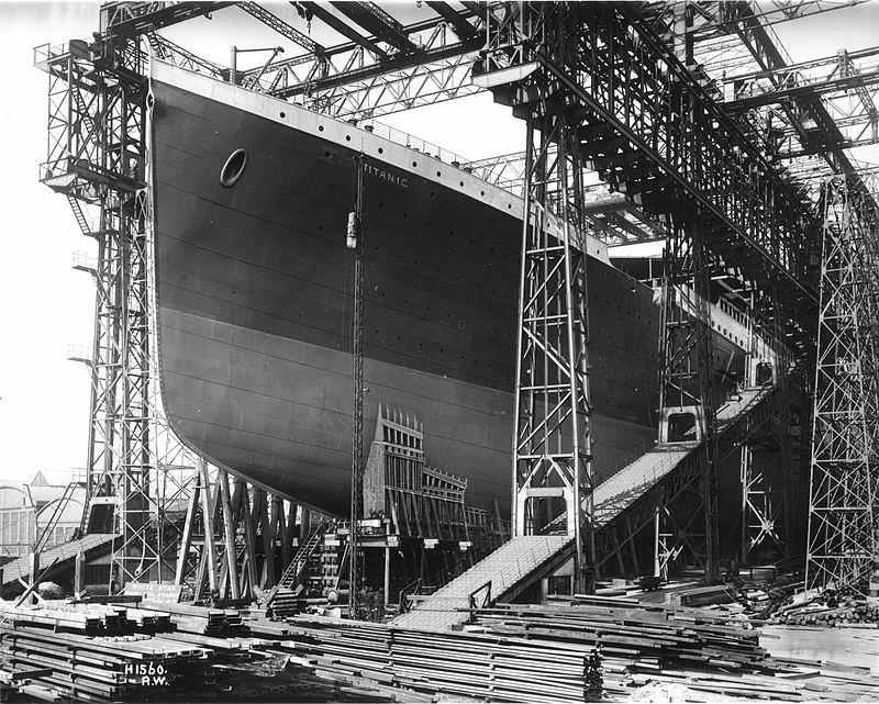 titanic budowa