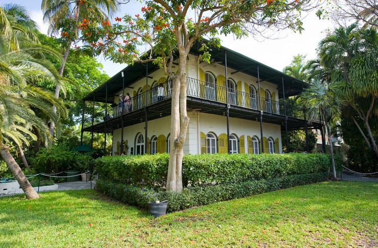 Dom Ernesta Hemingwaya w Key West na Florydzie