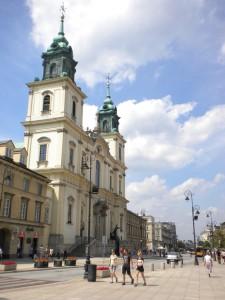 kościół św. Krzyża w Warszawie