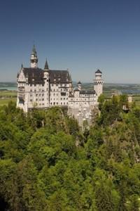 Zamek Neuschawnstein w Bawarii