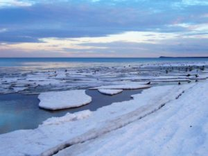 morze lód